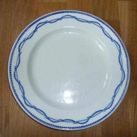 Assiette porcelaine de Tournai